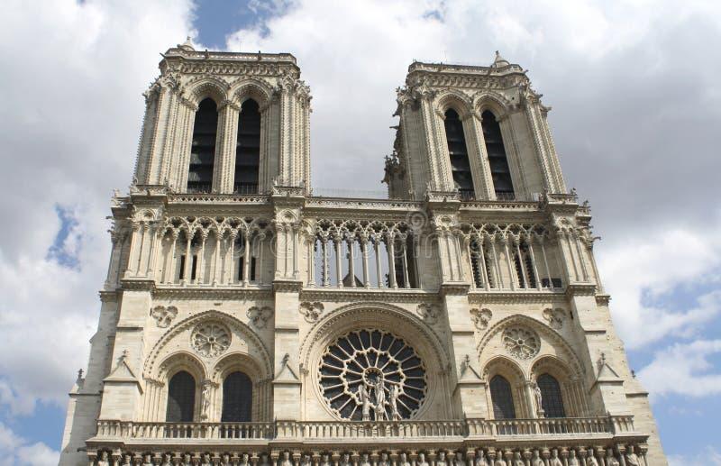 Notre-Dame, Paryż obraz stock