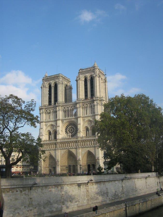 notre dame Paryża zdjęcia stock