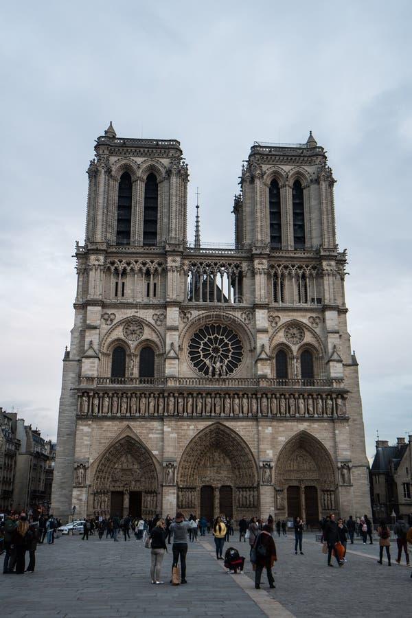 Notre Dame immagini stock libere da diritti