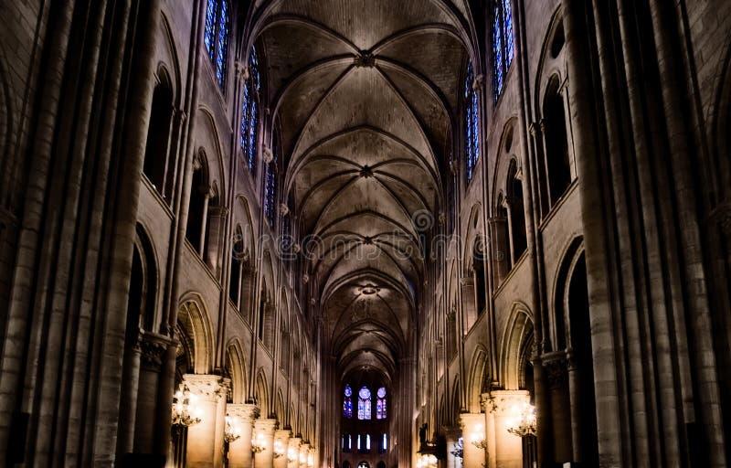 Notre Dame van Parijs stock foto's