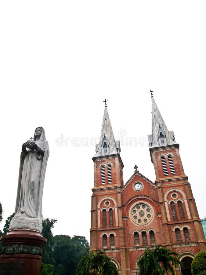 Free Notre Dame Virgin Mary Ho Chi Minh City, Vietnam Royalty Free Stock Photos - 20723938