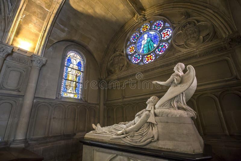 Notre damede la compassion kerk, Parijs, Frankrijk stock afbeeldingen