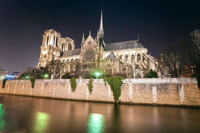 Notre- Damede Paris, Frankreich. stockfotografie