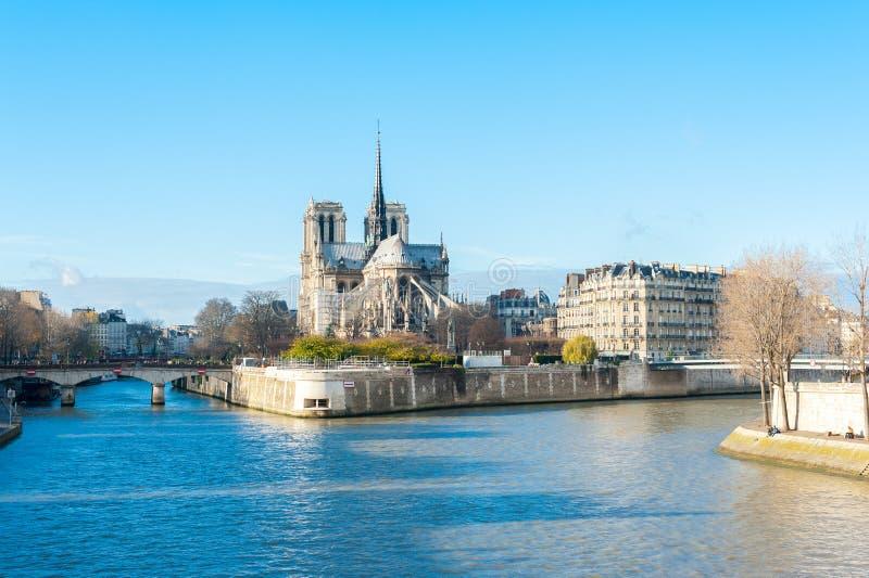 Notre- Damekathedrale lizenzfreies stockbild