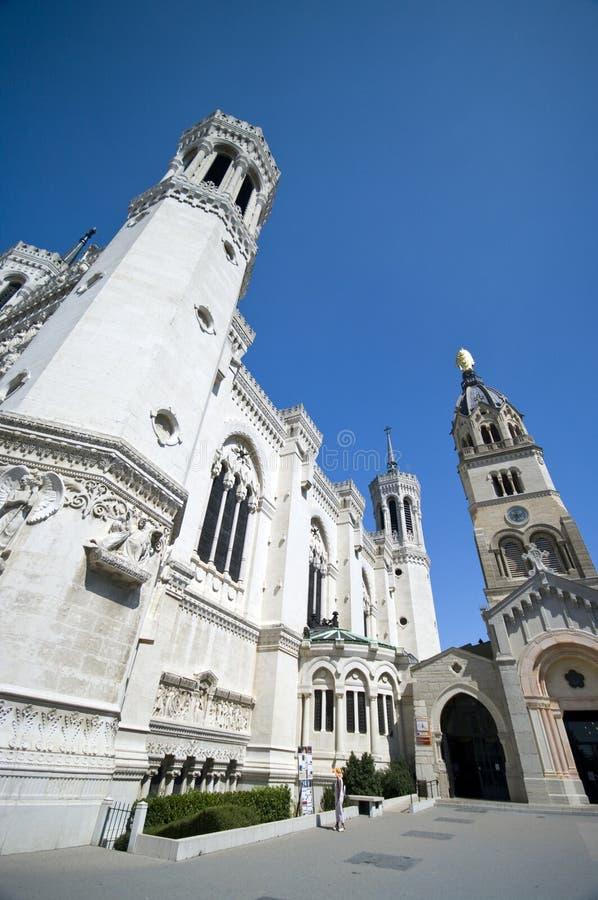 Notre- Damekathedrale Lyon lizenzfreies stockfoto