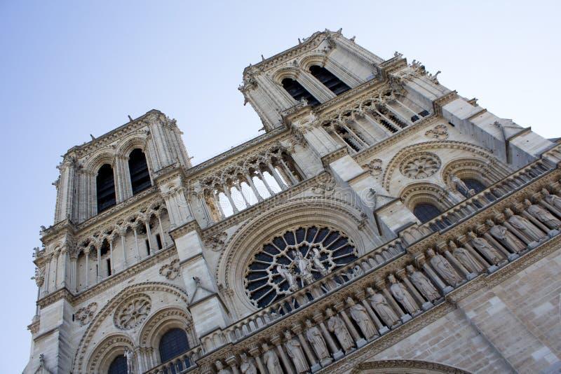Notre- Damekathedrale Paris stockfotos