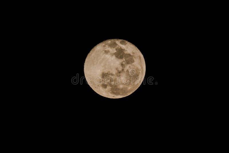 Notre lune image libre de droits