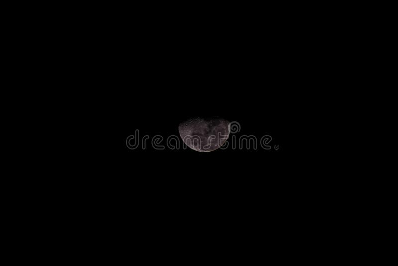 Notre lune photographie stock