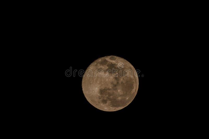 Notre lune images libres de droits