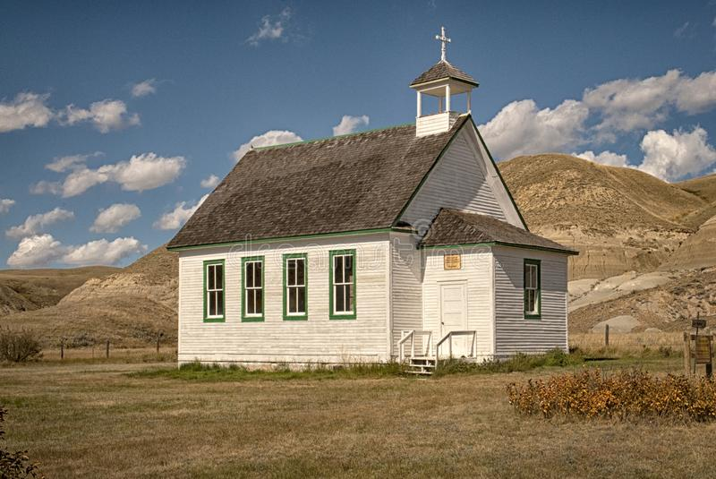 Notre Madame d'aide perpétuelle Roman Catholic Church chez Dorothy Alberta images stock
