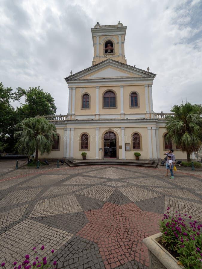 Notre Madame de Carmel Church, Macao photos libres de droits