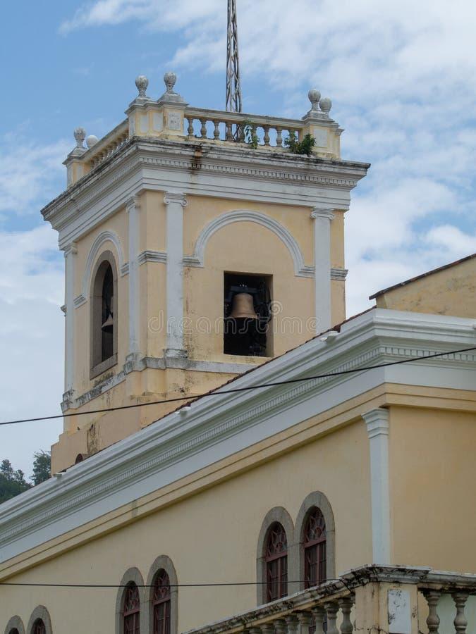 Notre Madame de Carmel Church, Macao images stock