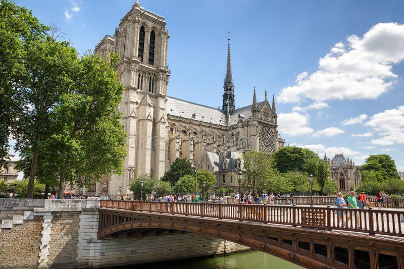 Notre Madame de cathédrale de Paris paris france photo libre de droits