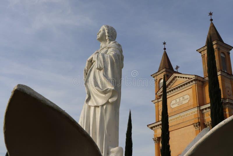 Notre Madame de Rosario Church - Colombo Brazil photographie stock libre de droits