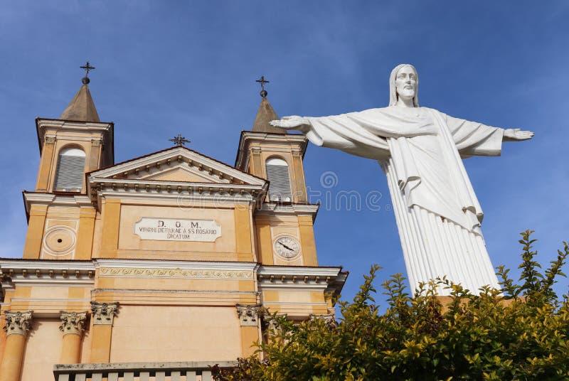 Notre Madame de Rosario Church - Colombo Brazil photos libres de droits