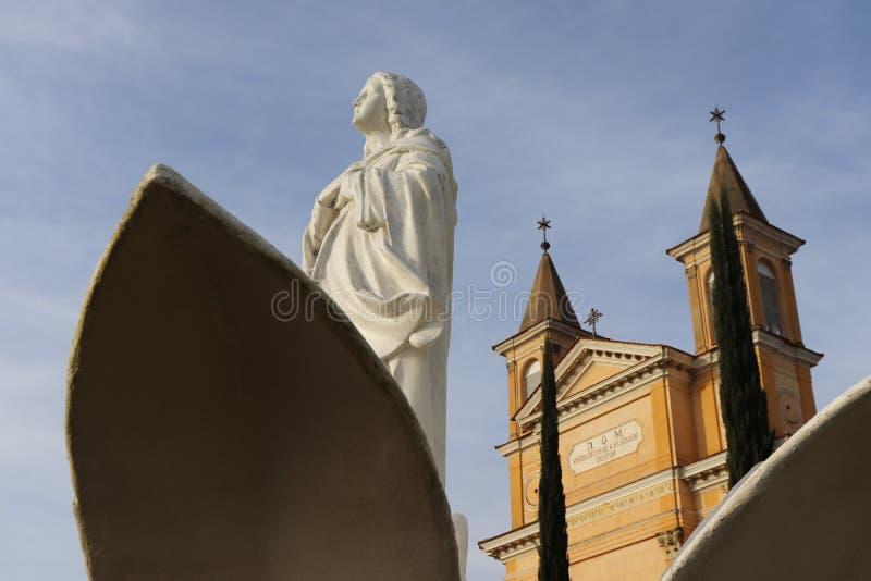 Notre Madame de Rosario Church - Colombo Brazil images libres de droits