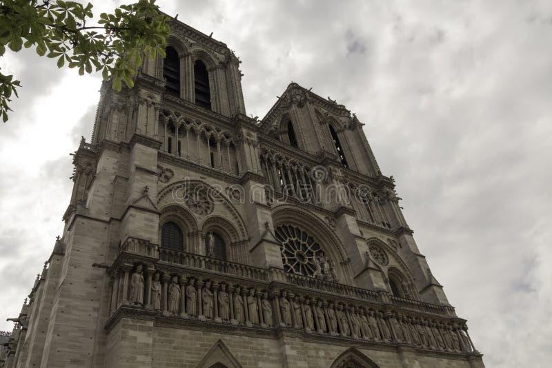 Notre paniusi katedra fotografia royalty free