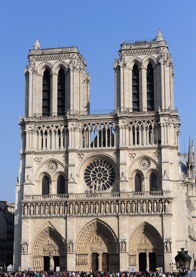 notredame Παρίσι στοκ εικόνες με δικαίωμα ελεύθερης χρήσης