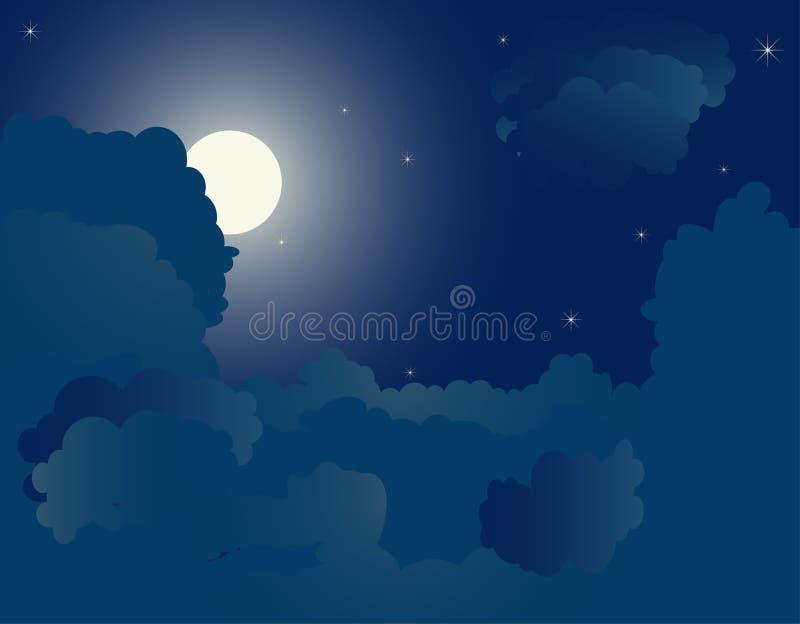 Notte illustrazione di stock