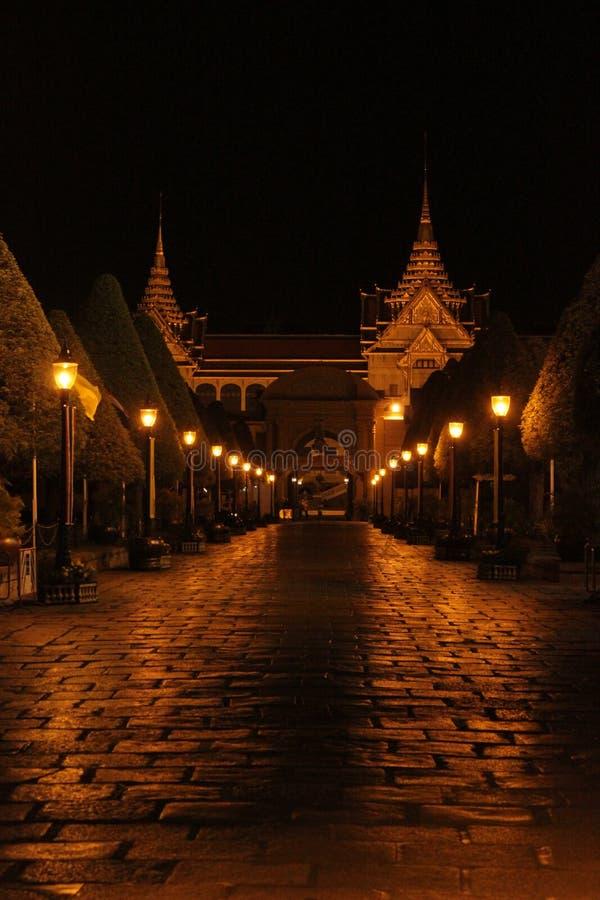 Notte alla Tailandia fotografia stock