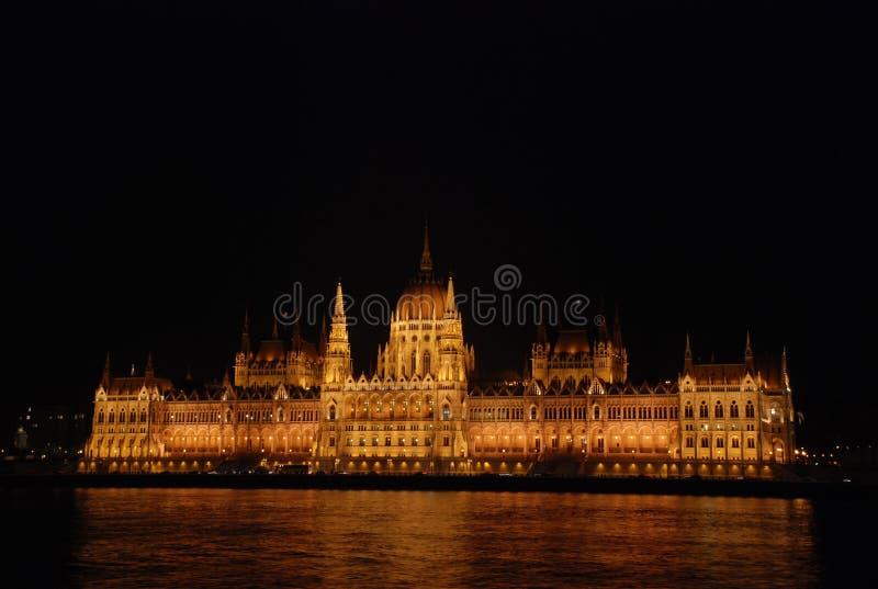 Notte Budapest immagini stock libere da diritti