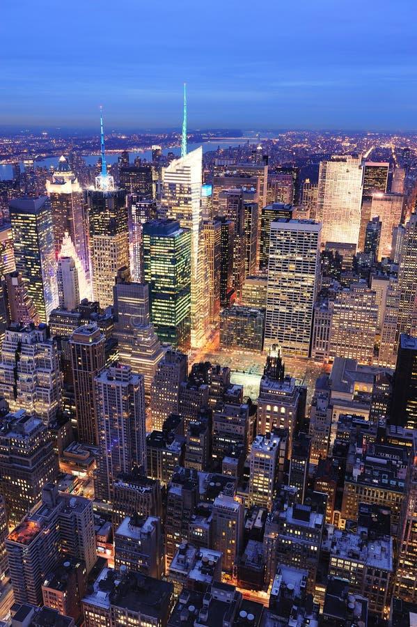 Notte Del Times Square Di New York City Manhattan Immagine Stock Immagine Di Posto Periodi 19215515