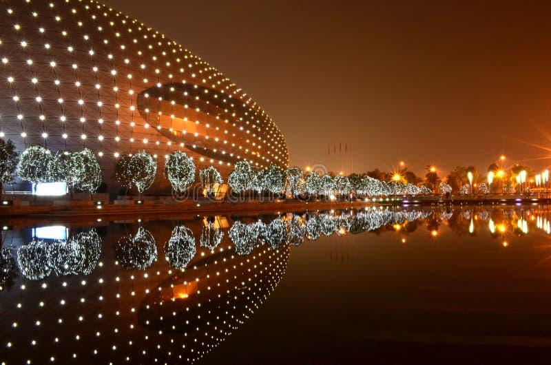Notte della Cina fotografia stock
