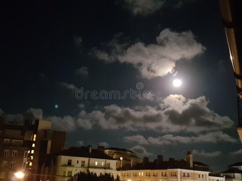 Notte della città fotografie stock libere da diritti