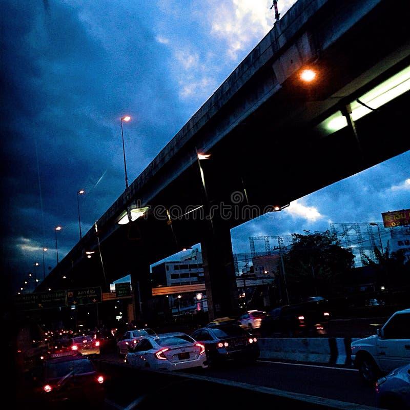 Notte della strada immagine stock libera da diritti