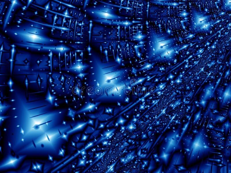 Notte dello Starlight illustrazione di stock