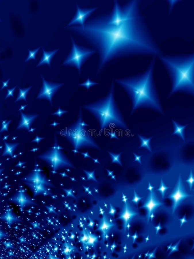 Notte dello Starlight illustrazione vettoriale