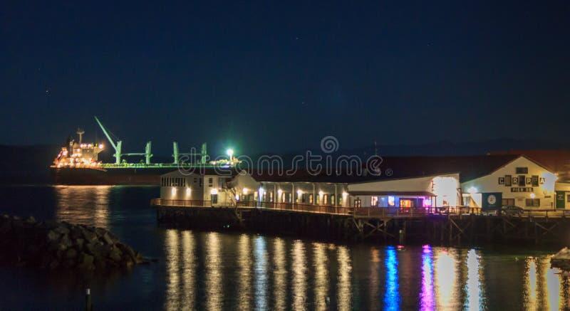 Notte di affari di Astoria immagine stock