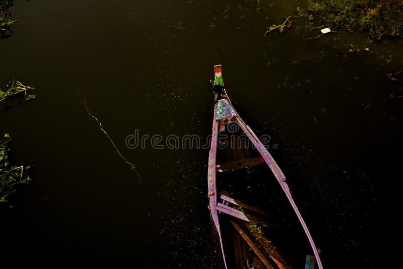 Notte di galleggiamento fotografia stock libera da diritti