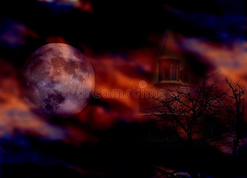 Notte di Halloween immagini stock libere da diritti