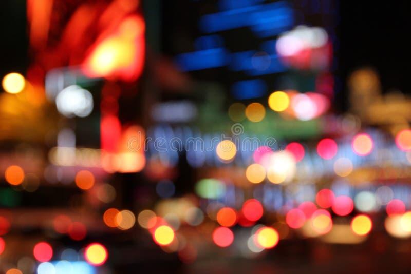 Notte di Las Vegas immagine stock libera da diritti
