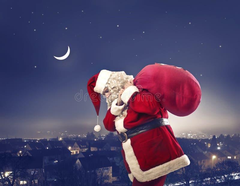 Notte di Natale immagini stock