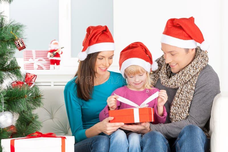 Notte di Natale. immagine stock