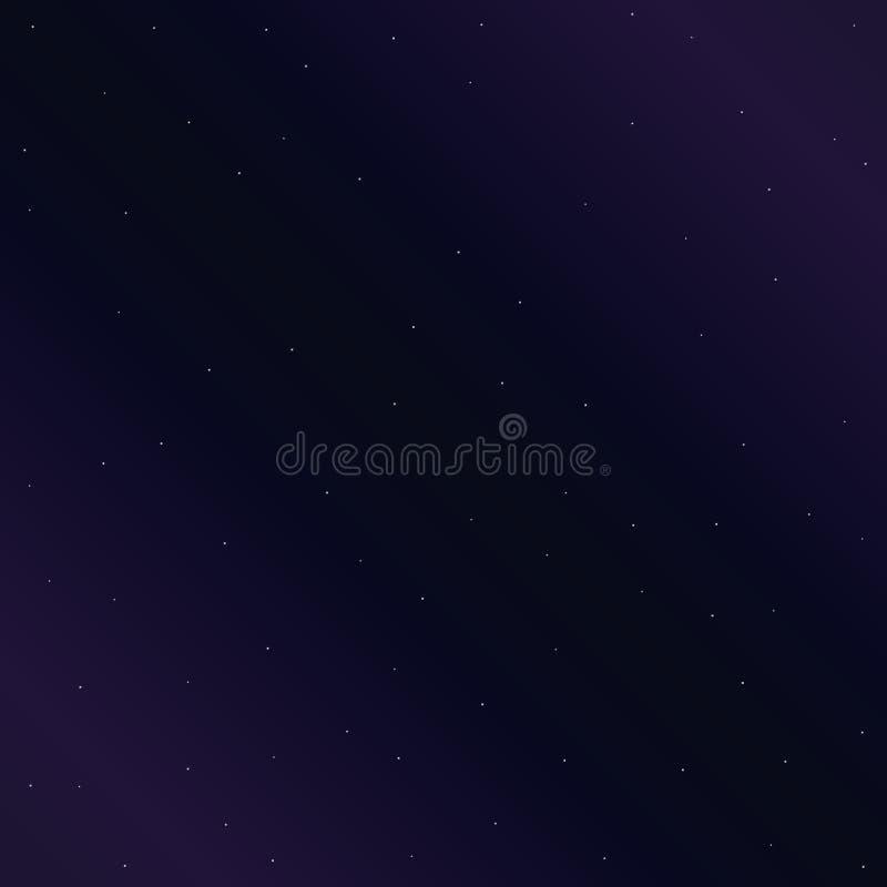 Notte di Starlight royalty illustrazione gratis