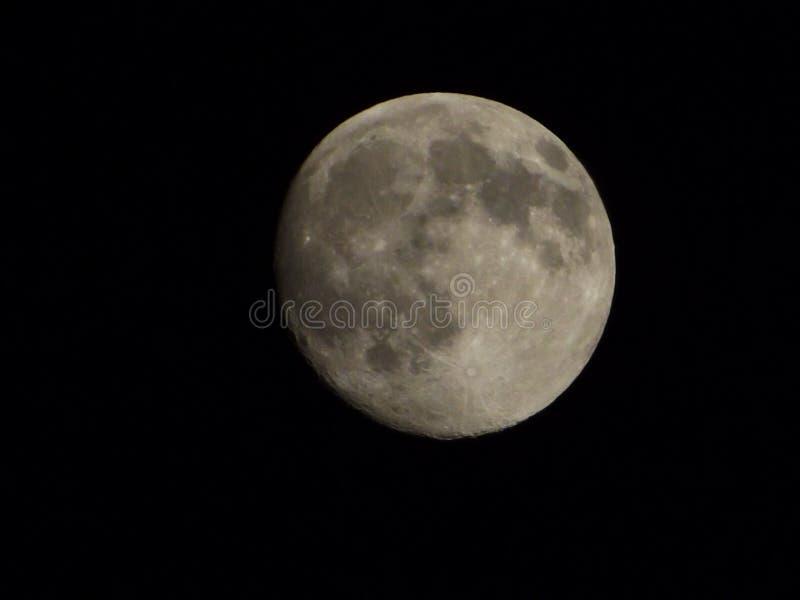 Notte lunare fotografia stock
