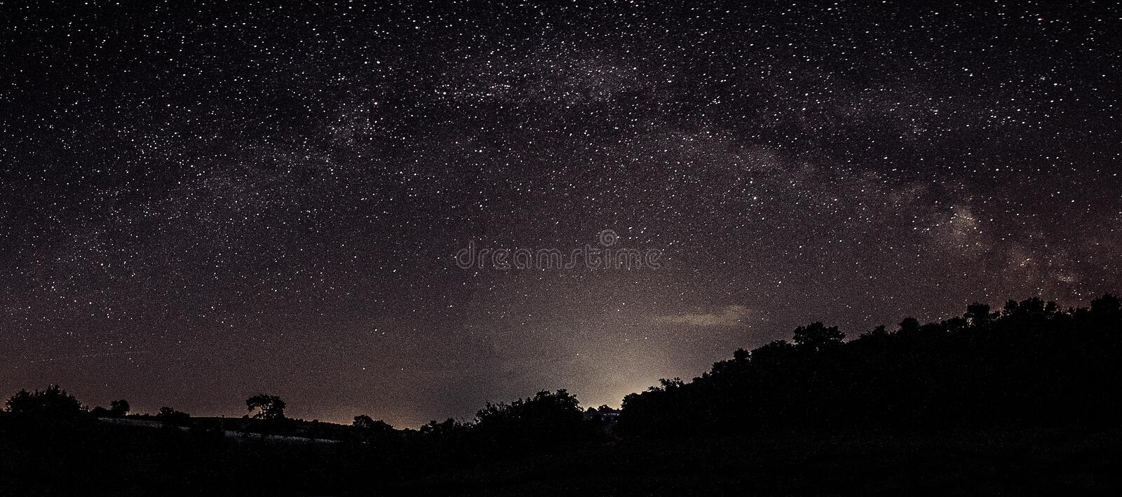 Notte Photography immagine stock