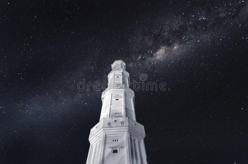 Notte in pieno delle stelle fotografia stock libera da diritti