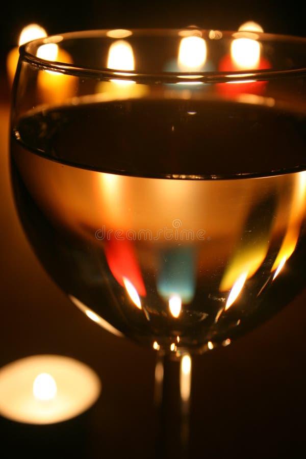 Notte romantica fotografie stock libere da diritti