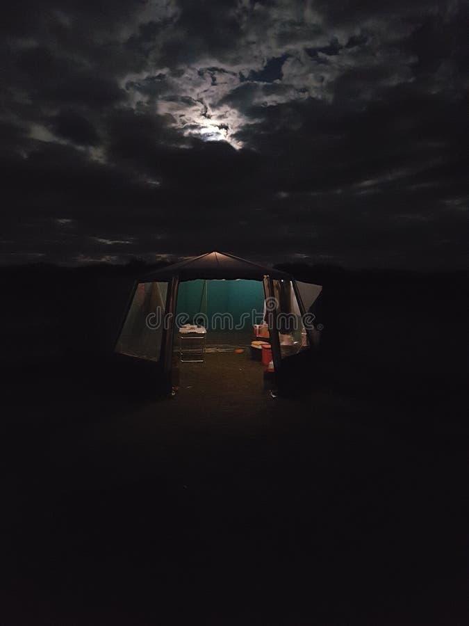 Notte spettrale immagine stock libera da diritti