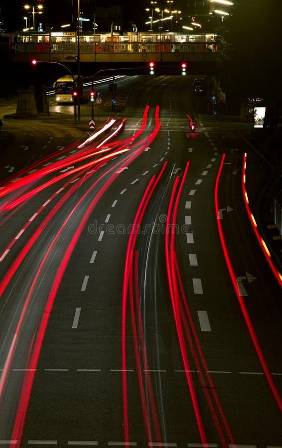 Notte urbana fotografia stock libera da diritti