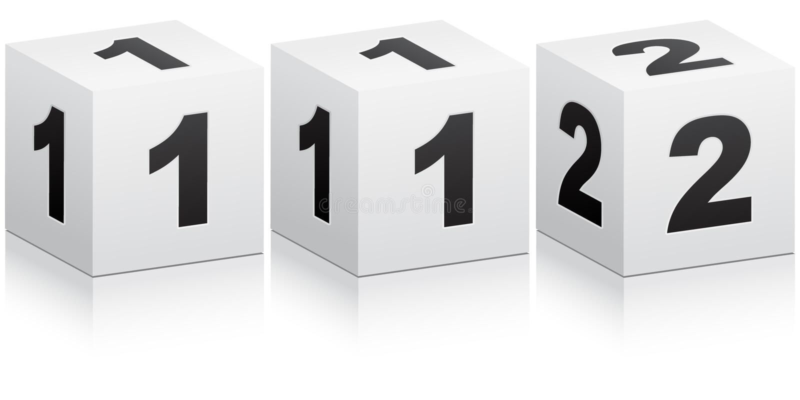 NotTelefonnummer stock abbildung