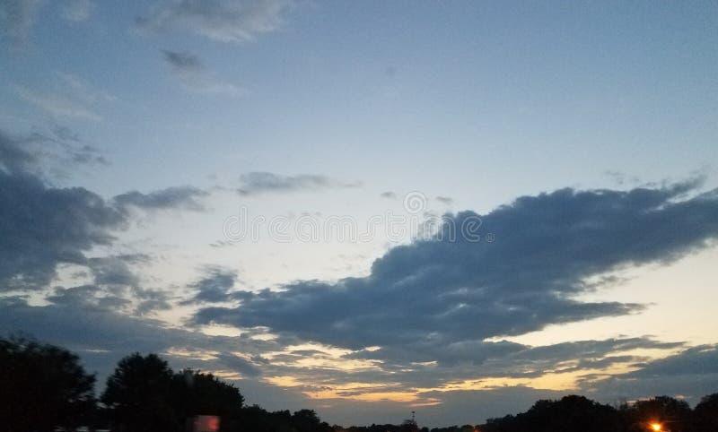 Notti di estate fotografia stock