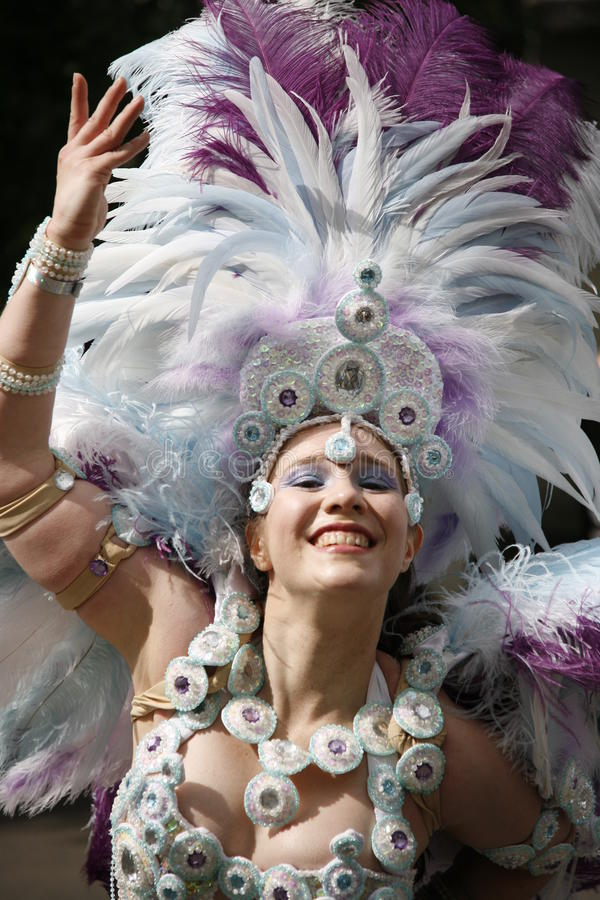 notting 2011 karnawałowych wzgórzy zdjęcie royalty free