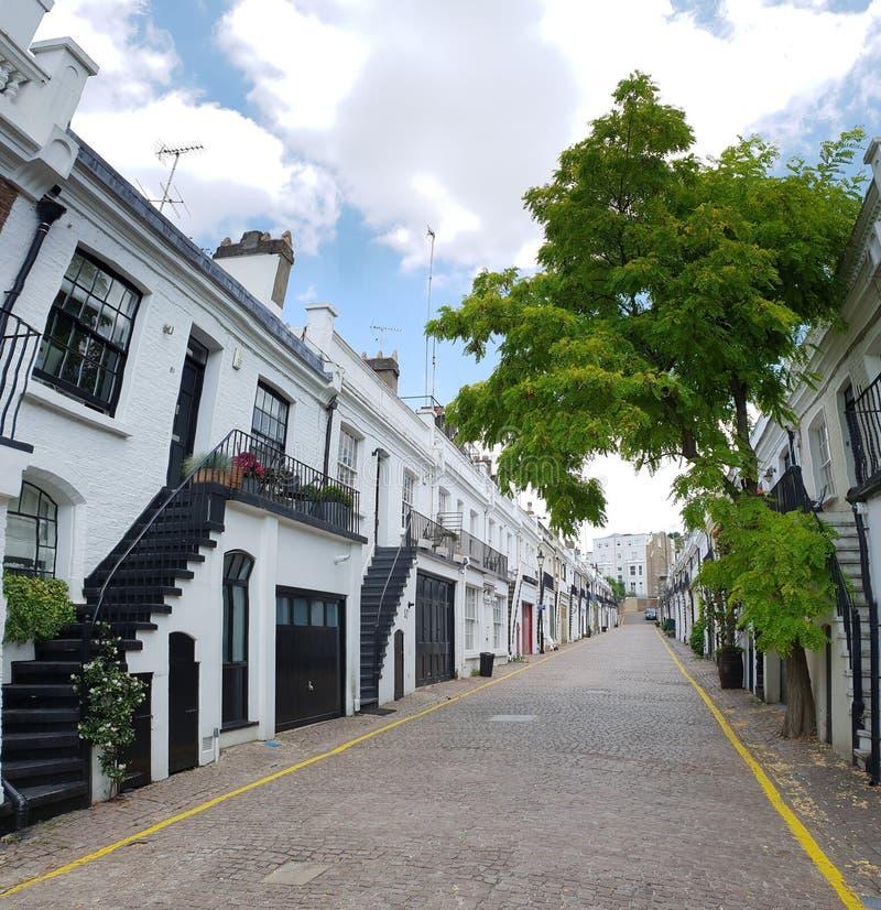 Notting Hill мяукает в Лондоне стоковая фотография rf