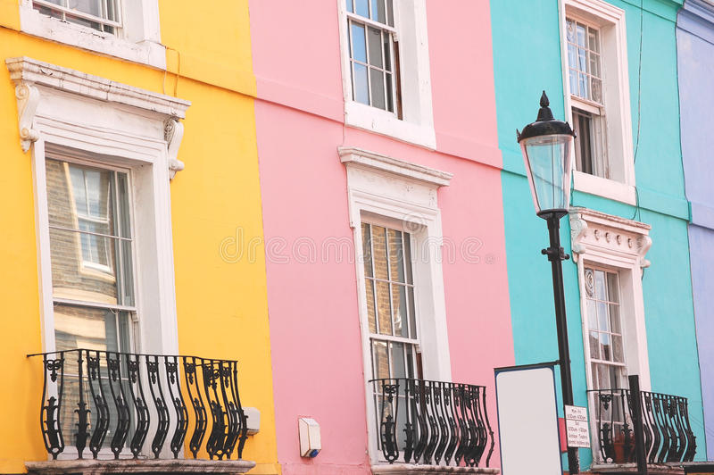 Notting Hill stockfotos