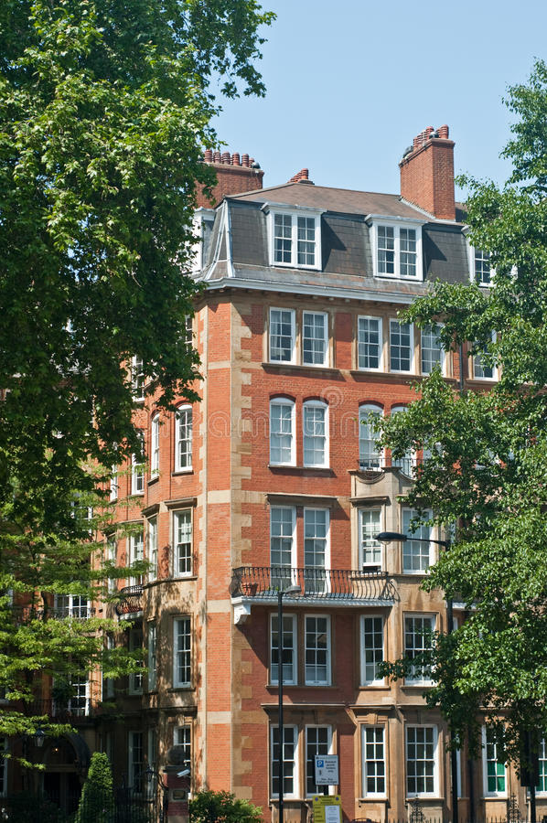 Download Notting Hill apartments stock photo. Image of houses, orange - 9613036